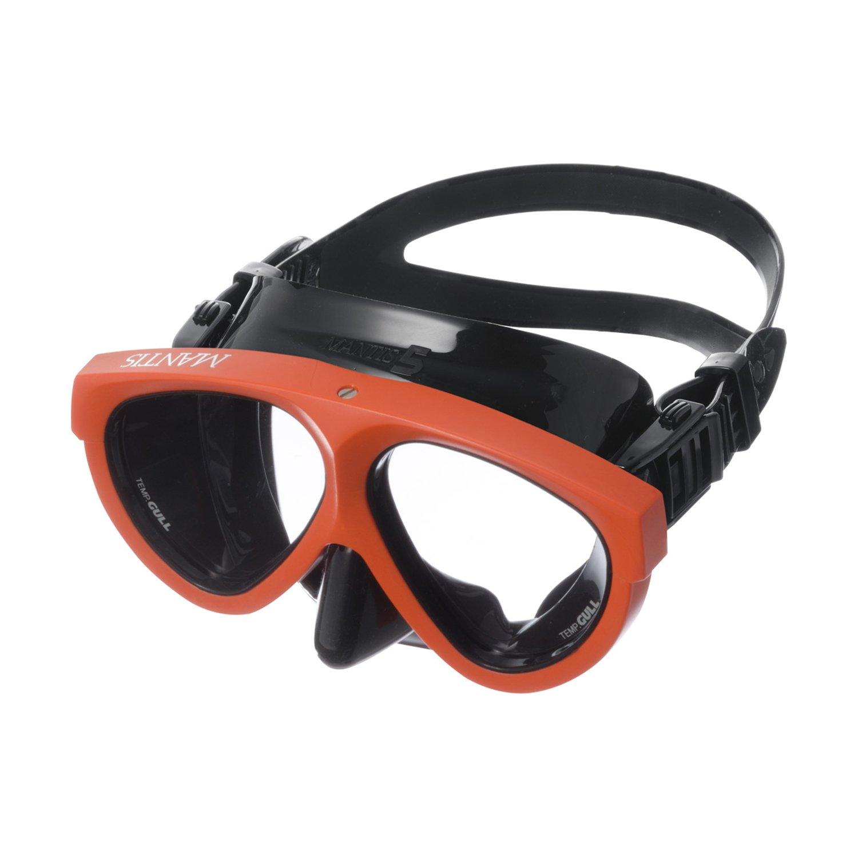 GULL (ガル) マンティス5マスク スクーバダイビング, シュノーケリング, Silicon フリーダイビング, スキンダイビング [Mantis Black 5] Orange/ B007FOE4KG BS Orange/ Black Silicon BS Orange/ Black Silicon, ヤマトマチ:44482c16 --- ijpba.info