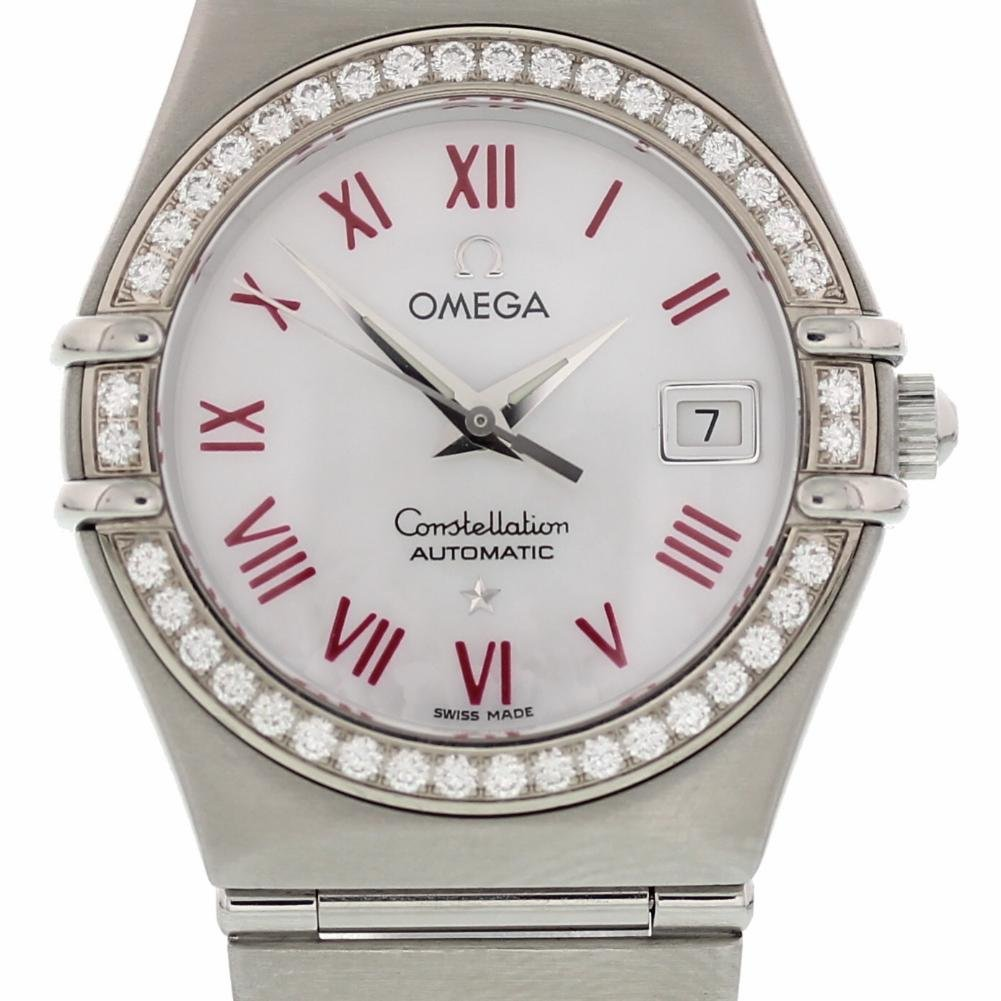 Omega Constellation automatic-self-wind womens Watch 1497.63 (Certified Pre-owned)