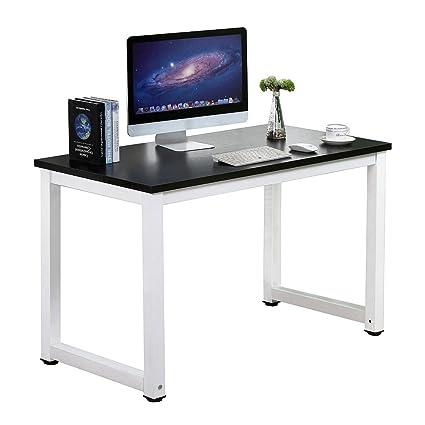 sturdy office desk. Gootrades Home Office Computer Table, 47\u0027\u0027 Sturdy Desk Study Writing Desk, R
