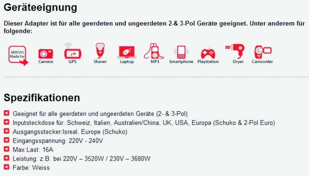 Design Reiseadapter Welt Auf Israel Deutschland 2er Set Steckdosenadapter Il Kombistecker Baumarkt