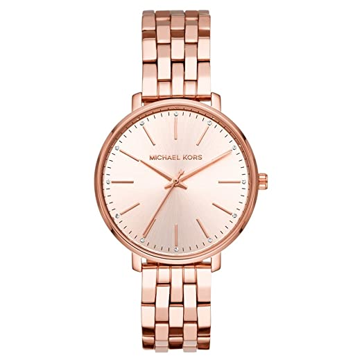 c2f3b13c5022 Michael Kors MK3897 Ladies Pyper Watch  Amazon.co.uk  Watches