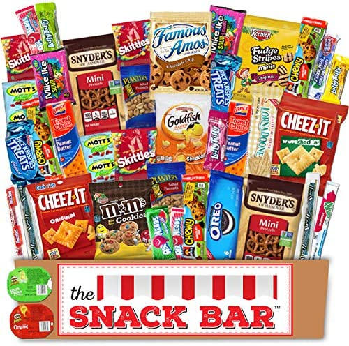 The Snack Bar - Snack Care Package (40 c