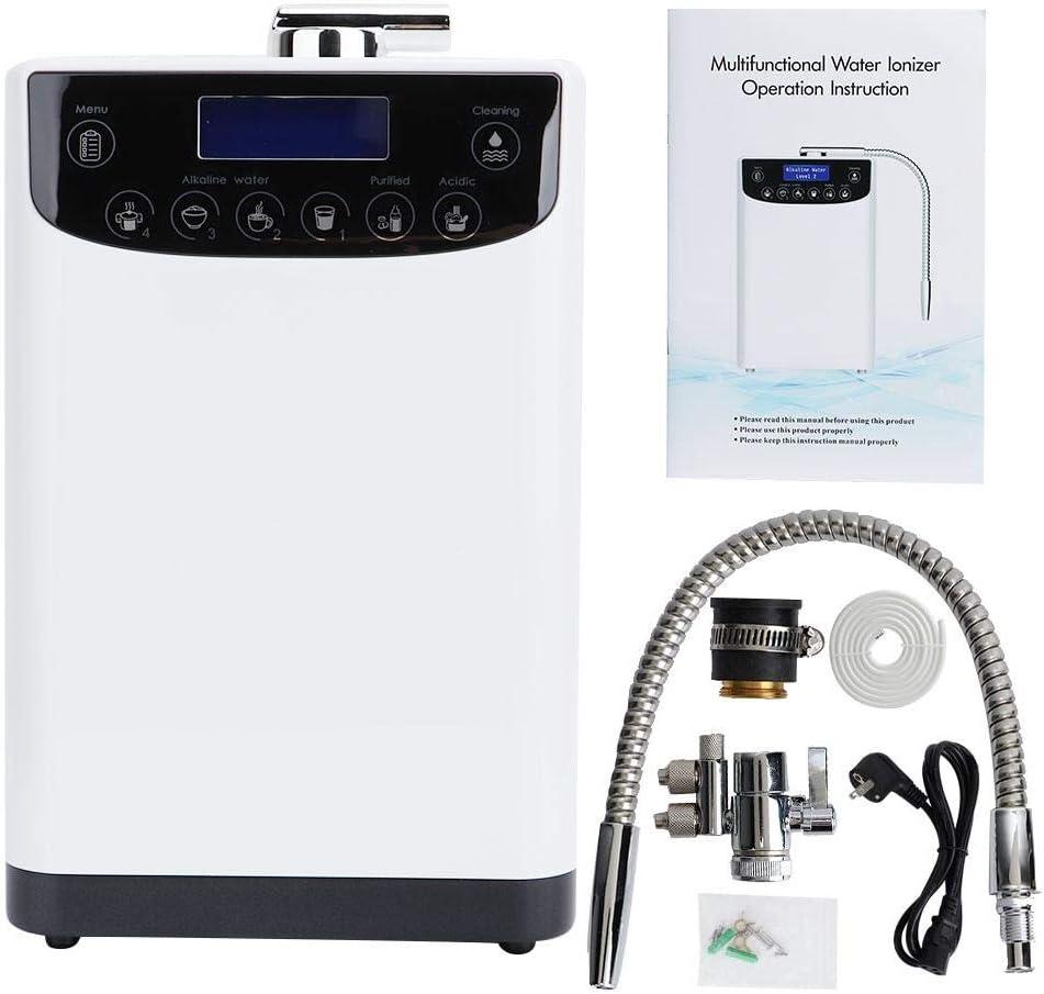多機能水イオナイザー機械、9000L水イオナイザー水清浄器PH 4.5-10アルカリ酸水機械(US Plug)