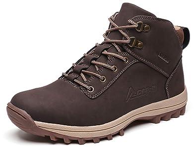 GJRRX para Hombre Botas de Senderismo Impermeables de Ocio al Aire Libre Zapatos de Deporte Zapatillas
