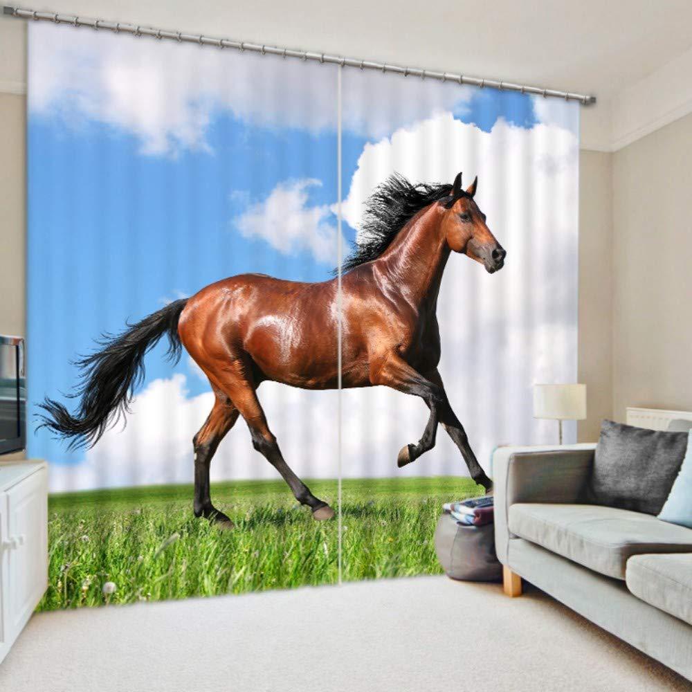 NANNAN Home 3Dデジタル印刷パターンカーテン人格リビングルームの寝室のバルコニー出窓カーテン、170 cm幅x 166 cm高 (Color : 80 Inches Wide X 84 Inches High) B07RMTXKKB 80 Inches Wide X 84 Inches High