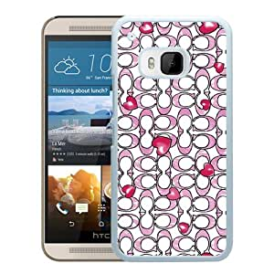 Popular Coach 33 White HTC ONE M9 Screen Phone Case Fashion And Handmade Cover Case