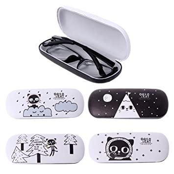 Rawuin 1pcs Lens Box Cartoon Cute Cat Portable Contact Storage Case Mirror Container Holder #011