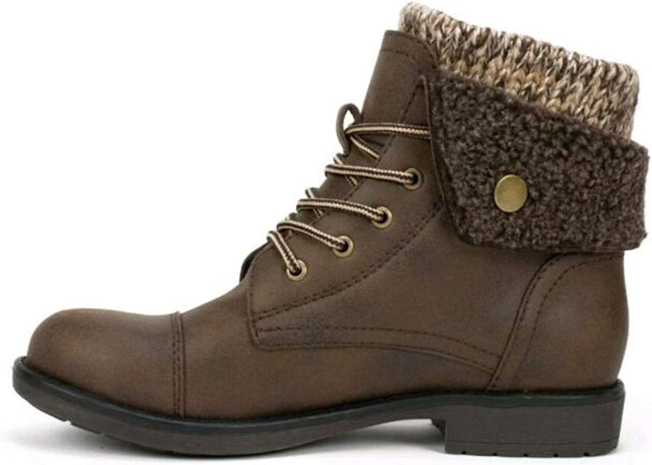 Cliffs by White Mountain Womens Decker Fabric Round Toe Ankle Fashion Boots