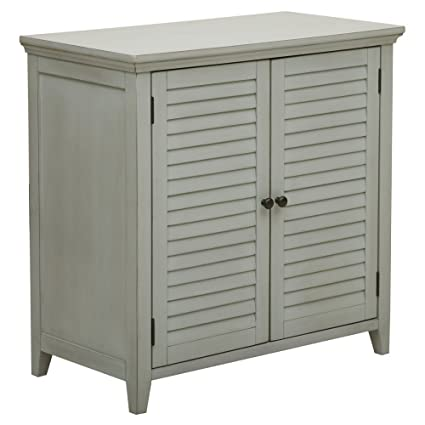 Genial Pulaski DS A042 857 Traditional Louvered Shutter Style Bathroom Storage  Cabinet