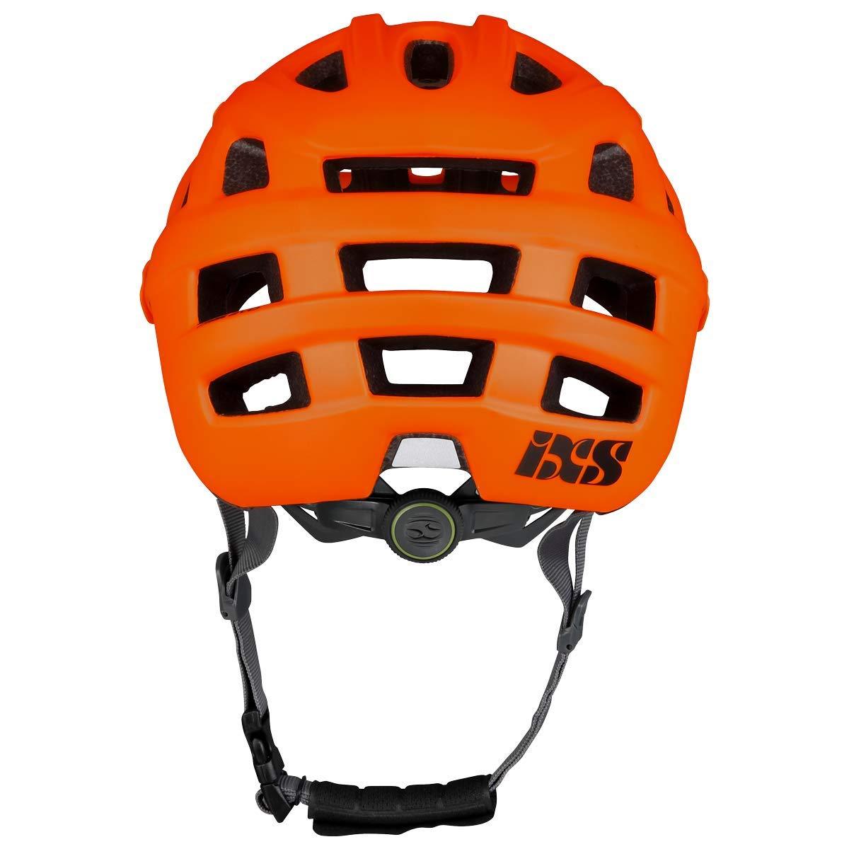 IXS RS Evo Casco MTB Trail//All Mountain Adulto Unisex SM Arancione 54-58 cm