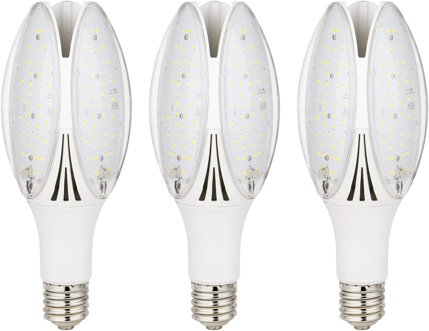 Sunlite 41153-SU LED PS35 High Output Bulb, 32W Watts (300W Equivalent), 4200 Lumens E39 Mogul Base, 120-277 Volts, UL Listed, 3 Pack, 50K - Super White