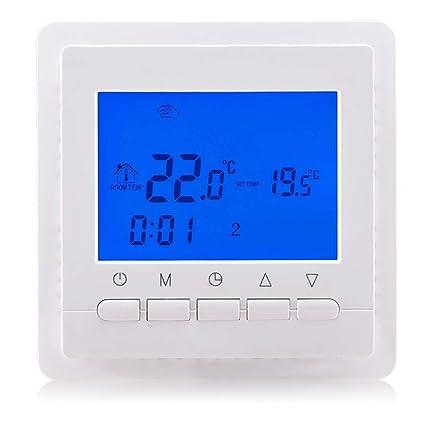 beok tol43-wp programable termostato para agua Sistema de calefacción por suelo radiante inteligente controlador
