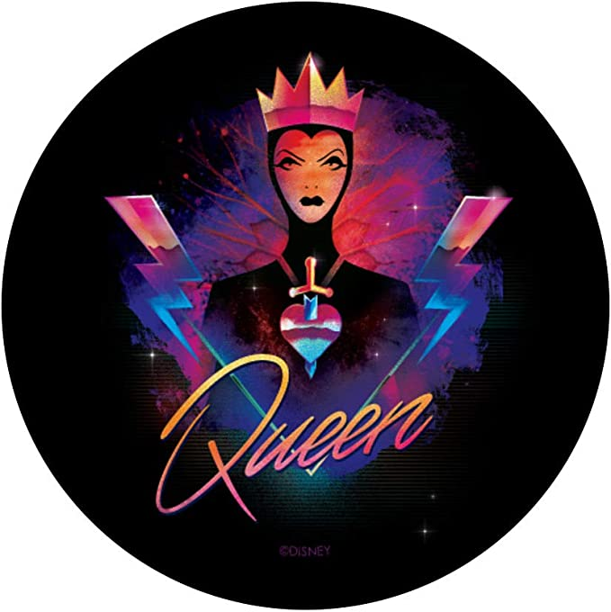 Disney Villains Evil Queen #Filter #NoFilter Funny Meme PopSockets Agarre y Soporte para Tel/éfonos y Tabletas