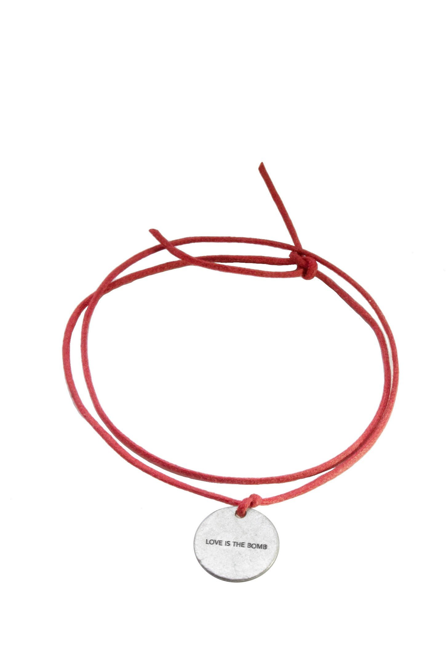 Peacebomb Love is the Bomb Wrap Bracelet