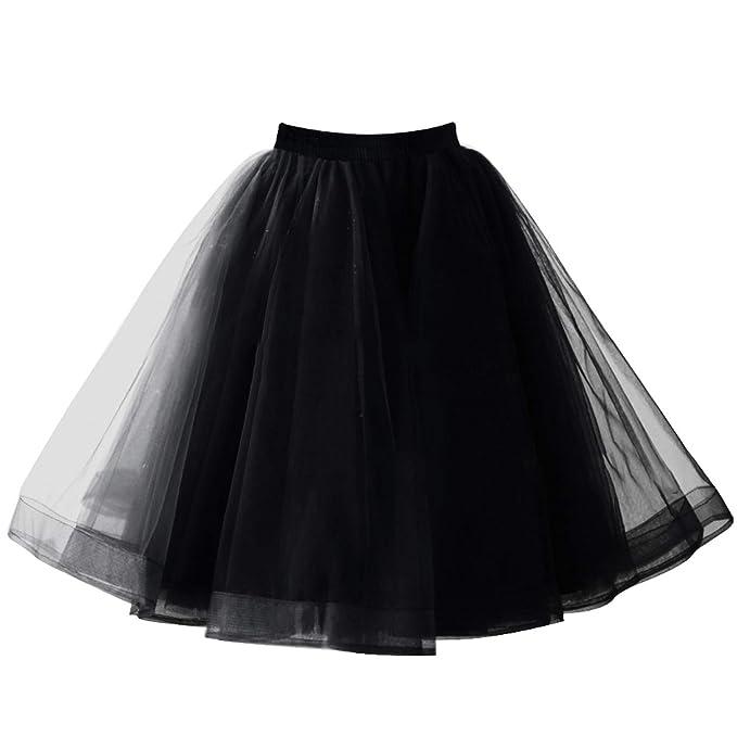 642162681e Babyonlinedress Tiered Short Black Tutu Skirt Crinoline Skirts Can Can Slip