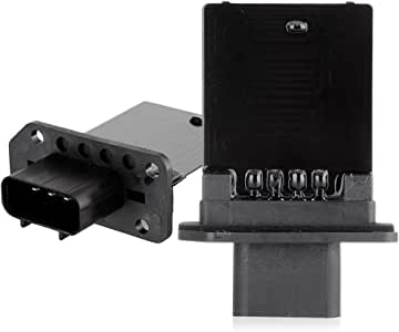 cciyu HVAC Blower Motor Resistor Fan Heating and Air Conditioning Blower Motor Resistor AC Blower Control Module fit for Ford Lincoln Mark LT//Navigator,Mazda Tribute//Mariner,Mercury Montego//Monterey