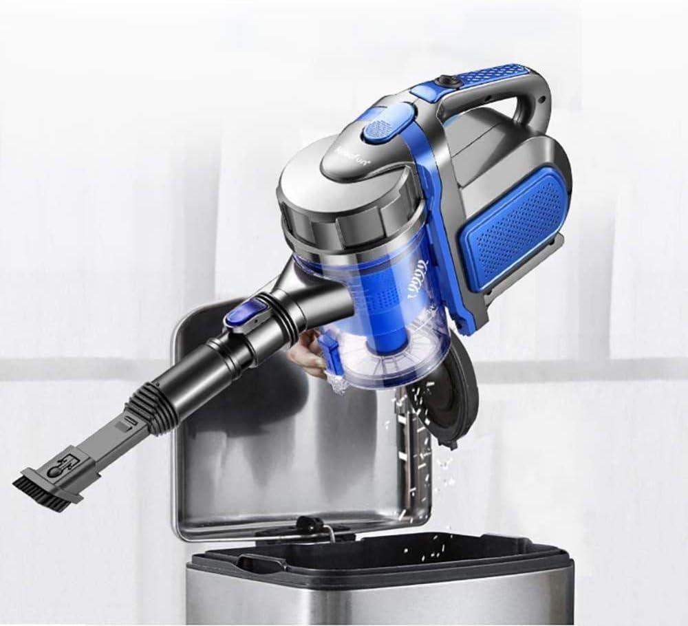 Cordon avec aspirateur à Main 2 en 1 léger Filtre Lavable à Technologie cyclonique 600W 12 kPa Bleu (Couleur: Bleu)-Bleu Bleu