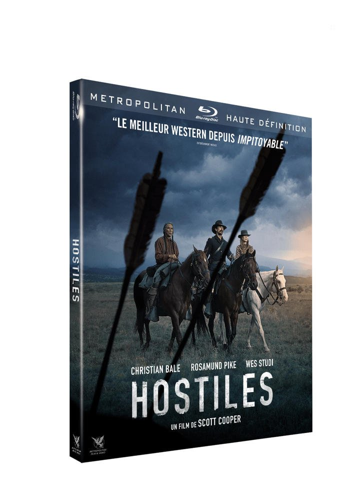Hostiles [Francia] [Blu-ray]: Amazon.es: Christian Bale ...