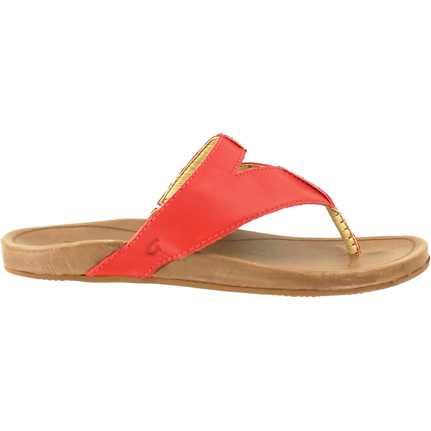 OluKai Women's Lala Paprika/Tan 9 B US by OluKai
