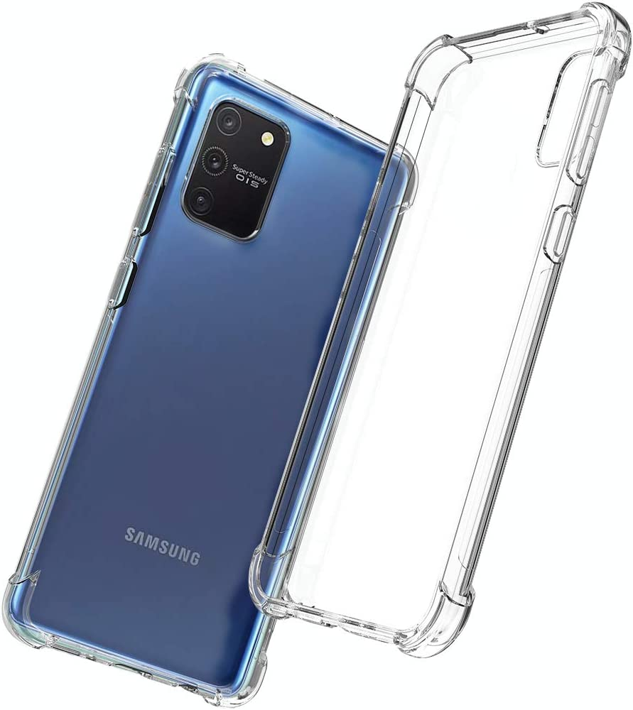 QHOHQ Funda para Samsung Galaxy S10 Lite,Cases Silicona Thin Slim ...
