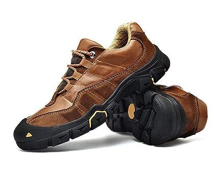919e9d4699451 Amazon.com: FGSJEJ Hiking Shoes Men Trekking Shoe Low Top Outdoor ...