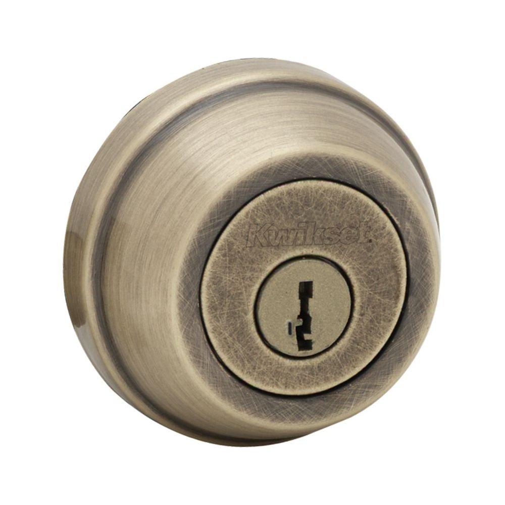 Kwikset 780 Single Cylinder Deadbolt Featuring SmartKey/® in Venetian Bronze