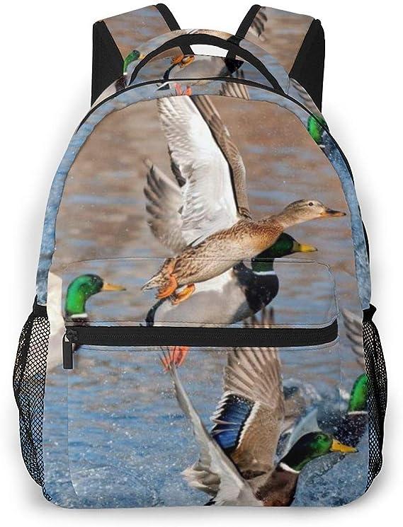 School Bag,Patos del Pato Silvestre De La Belleza Que Cazan ...