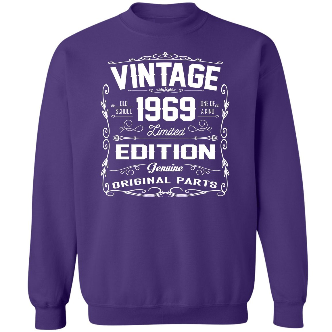 Awesome Gifts For Birthday Sweatshirt VADOBA Vintage 1969 Limited Edition Shirts