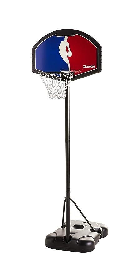 "Spalding NBA Youth Portable Basketball System - 32"" Eco-Composite Backboard"
