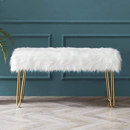 Modern Rectangular Ottoman Foot Rest Stool