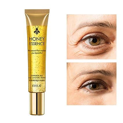 Honey Essence Crema para los ojos Hidratante Eliminar bolsas ...