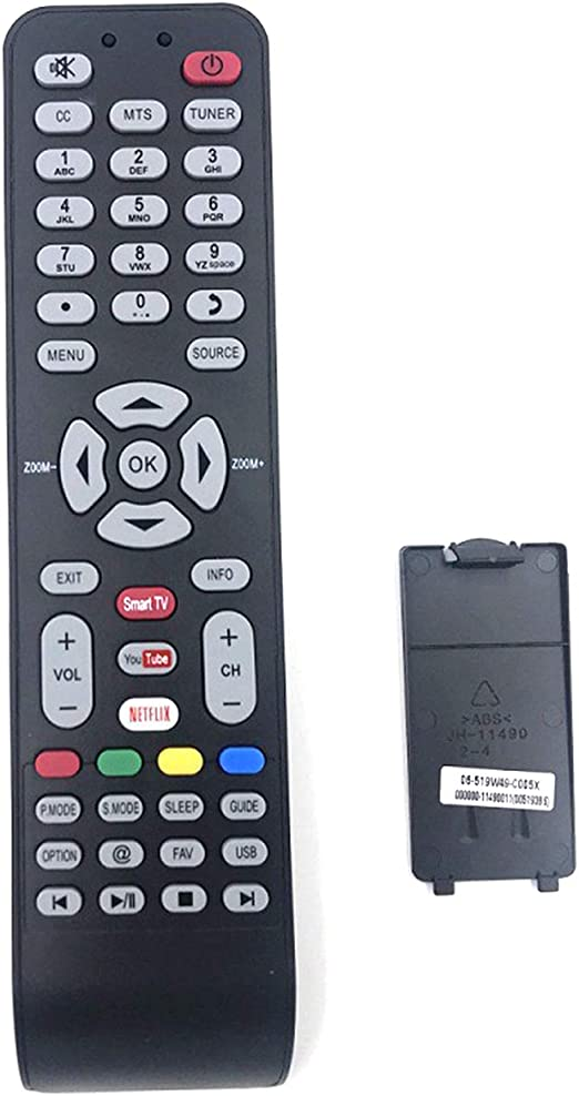 GZ HaiQianXin 06-519W49-C005X Control Remoto Duradero para TCL/Hyundai/EKT/HKPro/VISIVO/Kalley Smart TV: Amazon.es: Electrónica