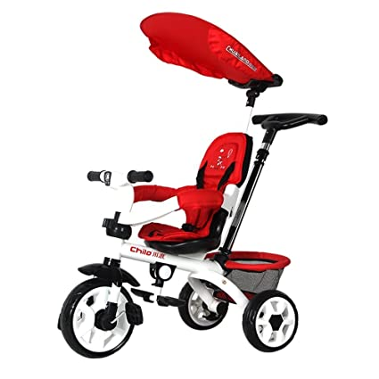 DACHUI niños empujando triciclos, bicicletas, motos, coches de niño, bebé niños trolley