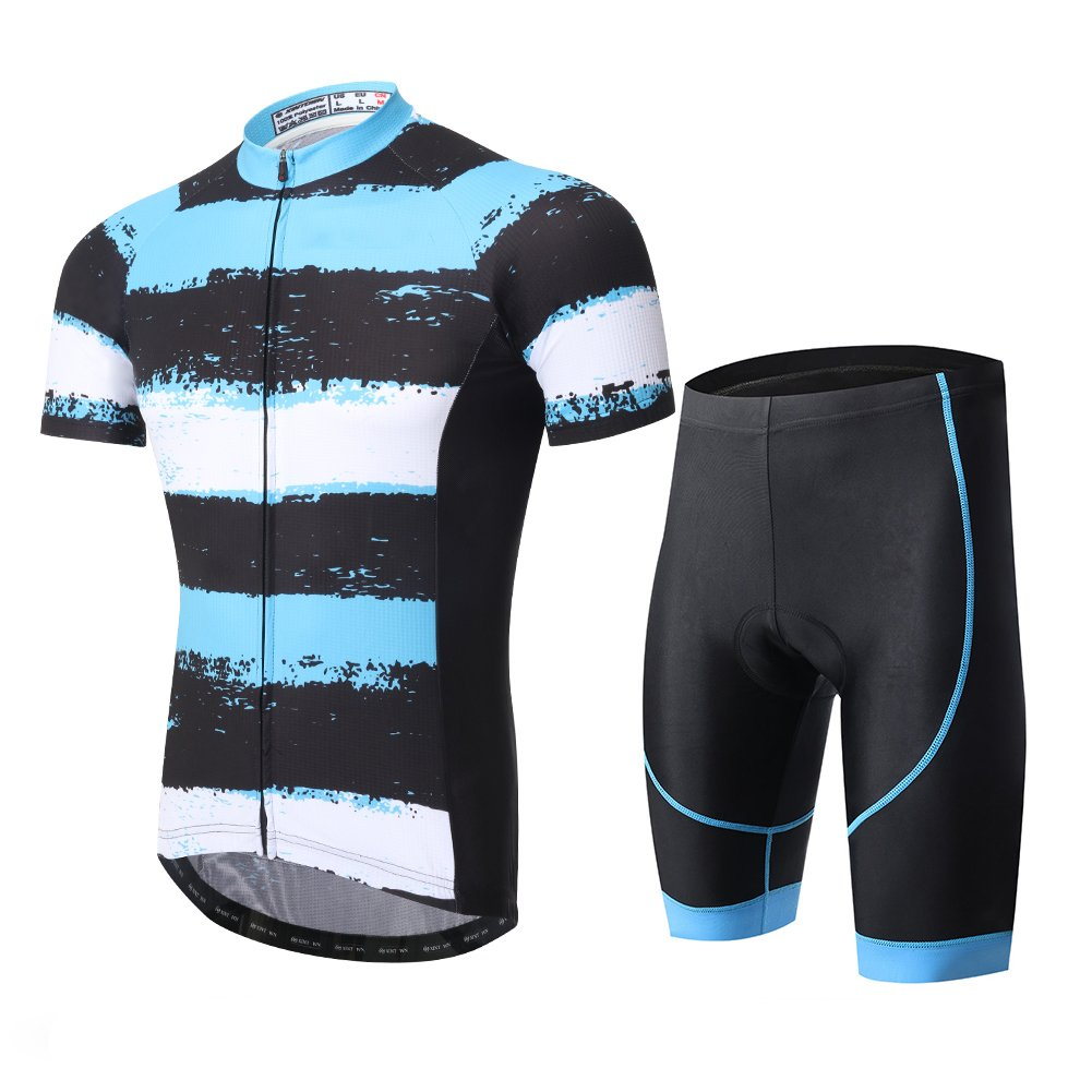Spoz Compression Cycling Jersey & Padded Shorts Set XXXL by Cycling Women Short Suit