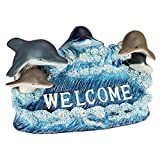 Design Toscano Dolphin Welcome Statue For Sale