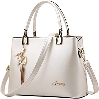 Amazon.it: borsa bianca: Scarpe e borse