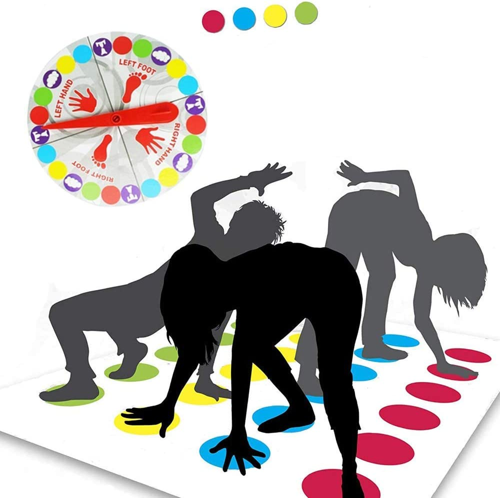Funmo - Juego de Piso, Juego de Mesa para Familia y Fiestas, Divertidos Juegos de Habilidad para niños y Adultos,Juego de Piso