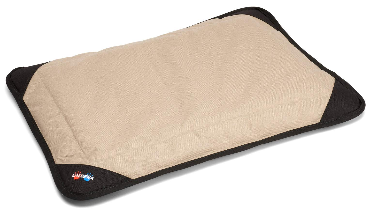 CALDERA Medium Pet Bed - Hot & Cold Pet Bed That Provides Both Cool or Hot Relief To Your Pet (Color Tan - Size MEDIUM: 22'' x 30'') by Caldera