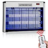 Bug Zapper, Mosquito Killer with Timer & Remote Control Function - Powerful 2800V 20W Bulbs - Covers 6,000 Sq. Ft. - Electronic Indoor Flies Pests Insect Killer For Home, Restaurant, Hotel Use
