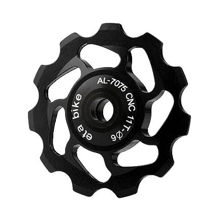 Aluminium Bike Jockey Wheels Rear Derailleur Pulley For SHIMANO 9//10 Speed 11T~