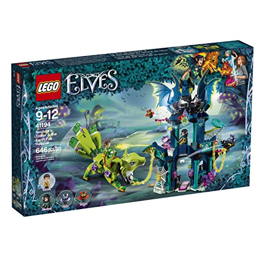 LEGO 6212148 Elves Noctura's Tower & The Earth Fox Rescue 41194 Building Kit
