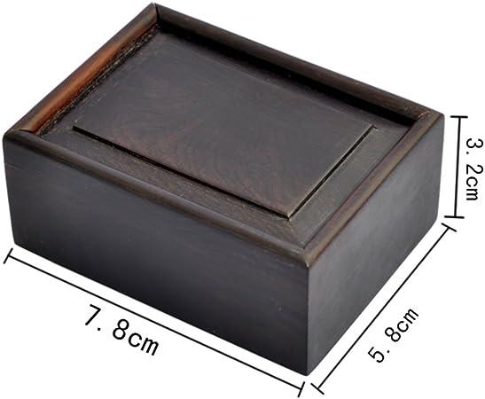 joyas antiguas cajas de madera Joyero chino ébano [caja de palisandro] pequeñas cajas de madera transparentes-A: Amazon.es: Hogar