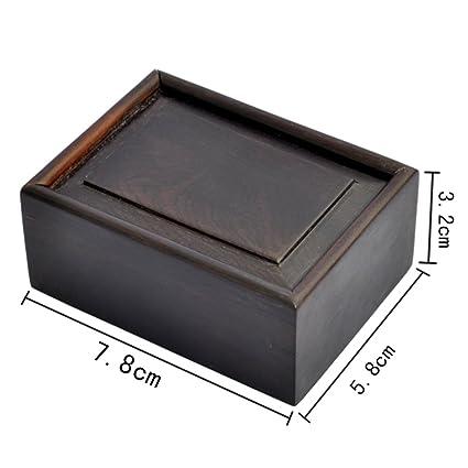 joyas antiguas cajas de madera Joyero chino ébano [caja de palisandro] pequeñas cajas de
