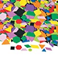 Fun Express Geometric Self-Adhesive Foam Shapes - 1000 Pieces by Oriental Trading Company