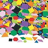 Arts & Crafts : Fun Express Geometric Self-Adhesive Foam Shapes - 1000 Pieces