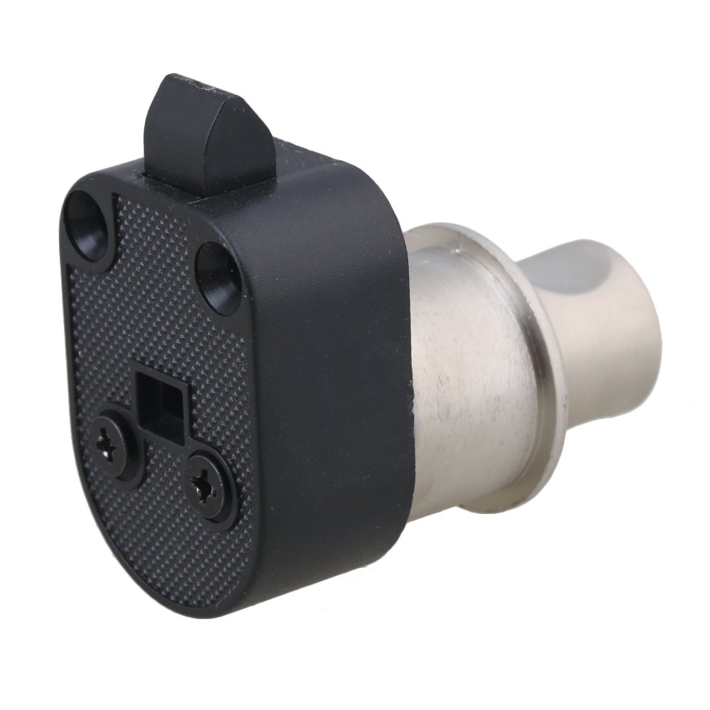 BQLZR 4.2/cm Nickel Bouton poussoir sans cl/é Serrure /à p/êne demi-tour Placard caravane Serrure pour RV tiroir darmoire portes /Épaisseur 18 24/mm