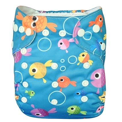 (Love My) bebé pañales de tela, transpirable, lavable y reutilizable ajustable snap