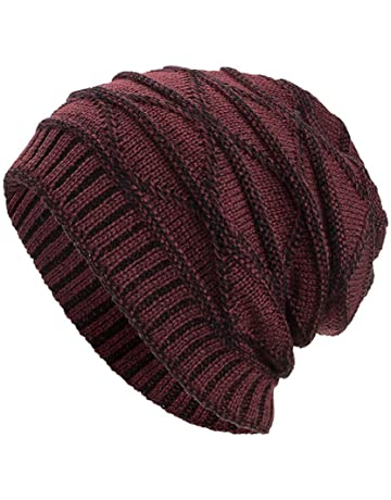 62d9619ec68437 NRUTUP Winter Hats, Unisex Warm Hat, Skull Cap, Ski Hat - Knit Hat