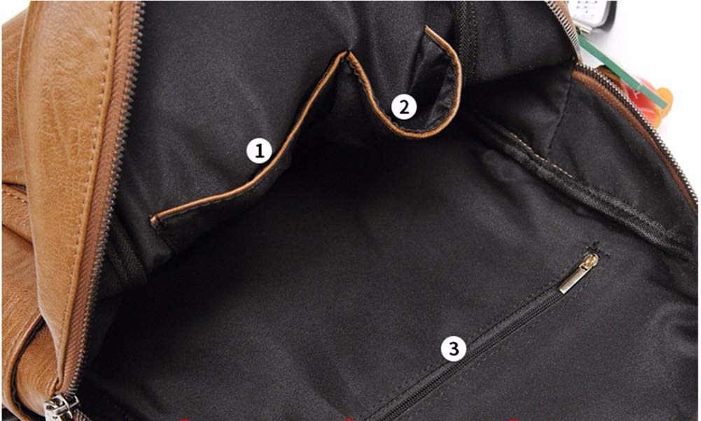 Wangjian& Reiserucksack Schultertasche Mode Mode Mode lässig weiche Ledertasche, 32x31x16cm B07JLTFTQF Henkeltaschen Tragen Sie Ihr Grünrauen 6f3628