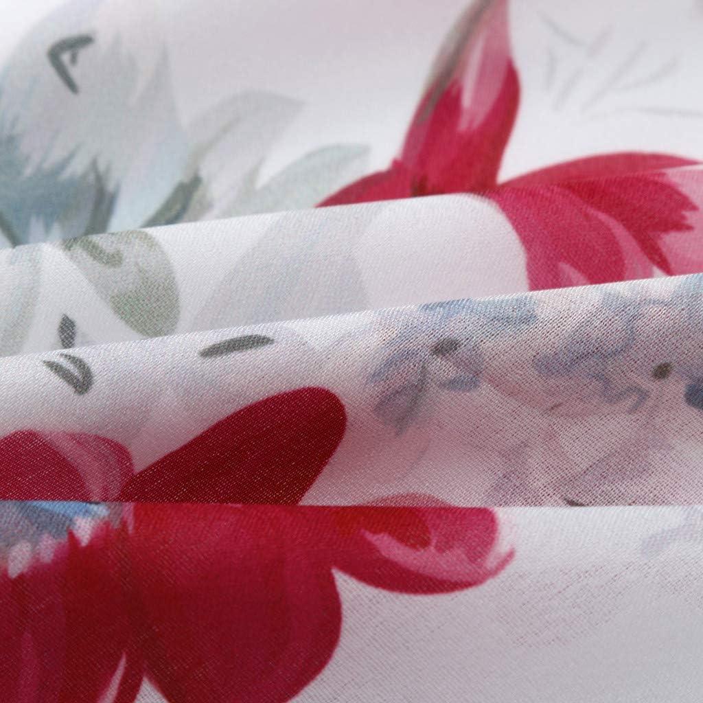 EINCcm Womens Button Up Blouses v Neck Floral Printed Work Casual Short Sleeve Shirt Tops Summer Elegant Shirts